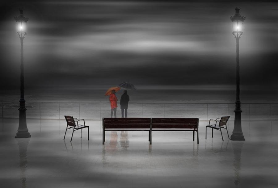 Confidencias bajo la lluvia