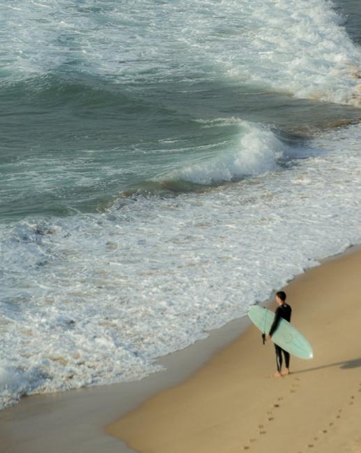 Esperando la ola
