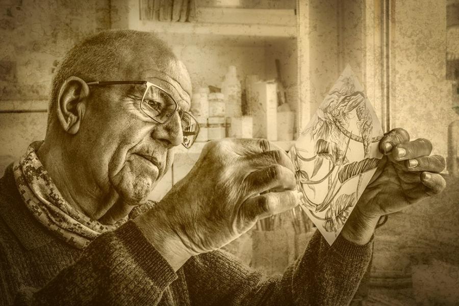 El artista y su obra
