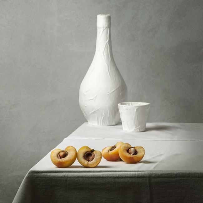 Albariciques en la mesa