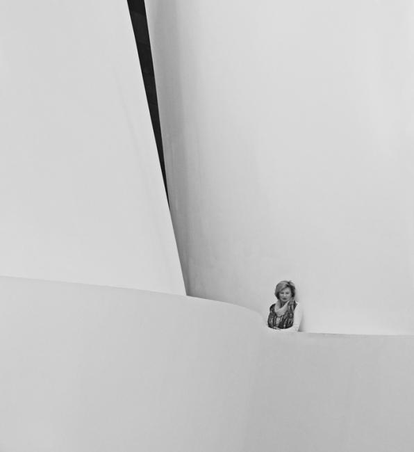 Balcón en el museo