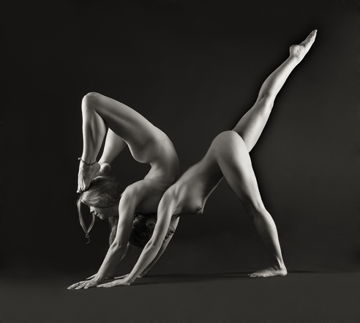 Dueto de yoga
