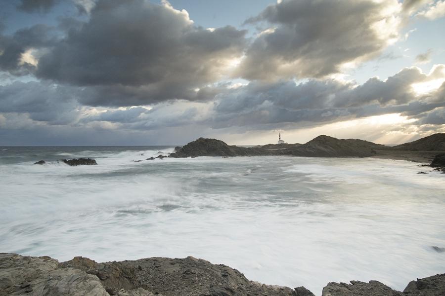 Temporal Al Norte De Menorca