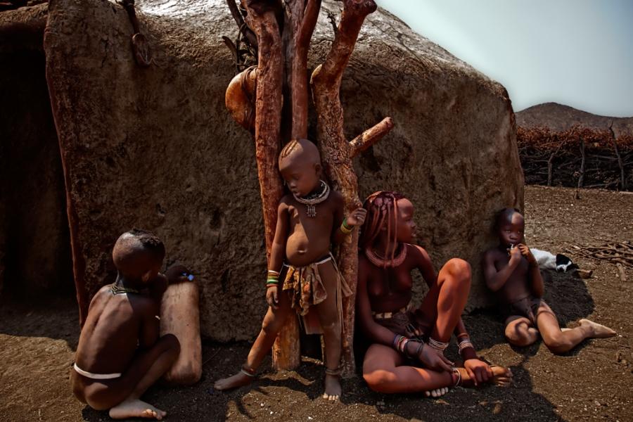 Familia Himba