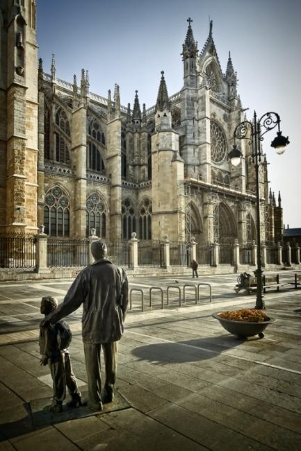 Mirando la Catedral