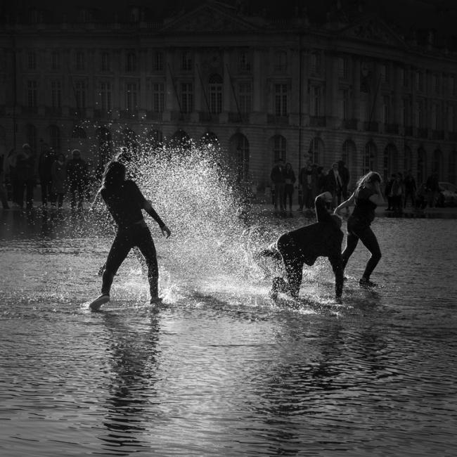 Jugando con el agua