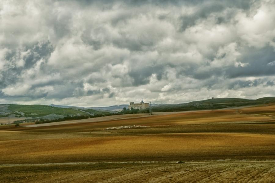 La soledad del monasterio.