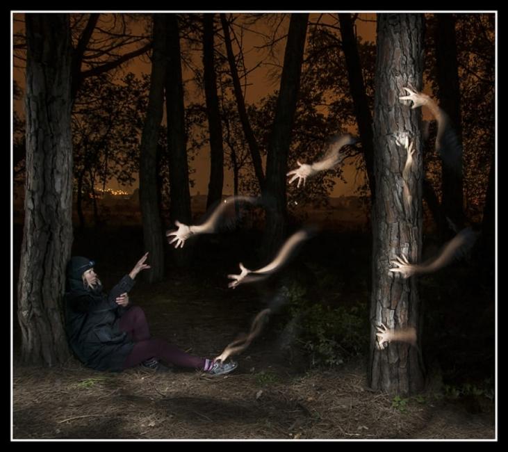 el bosque de las manos
