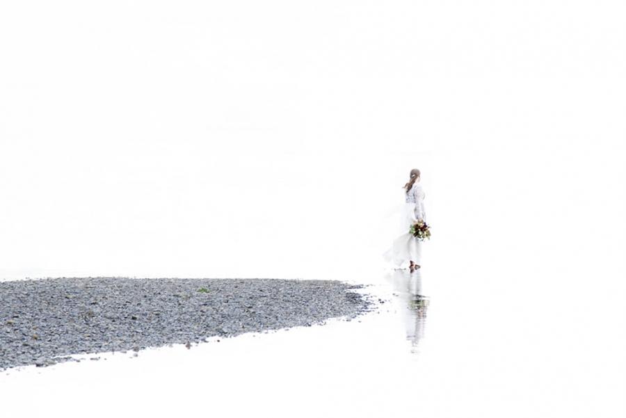 Ella y el Lago