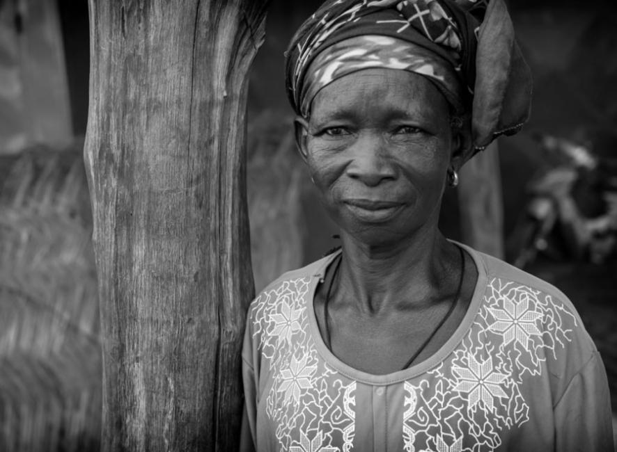 Mujer Dagari. Burkina Fasso
