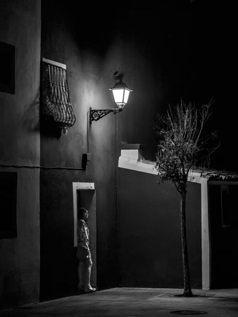 Un punto de luz