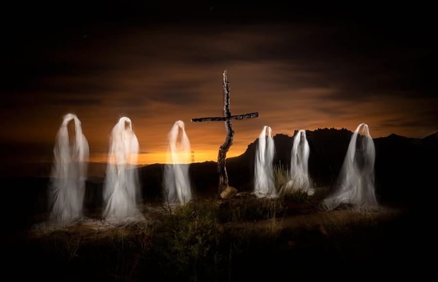 Aquelarre de fantasmas en Montserrat