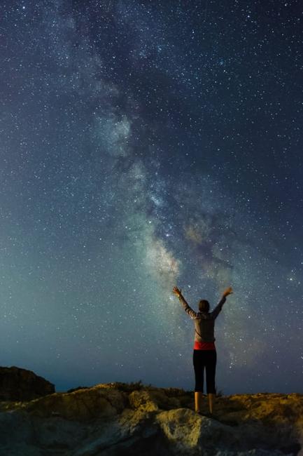 Un abrazo al universo