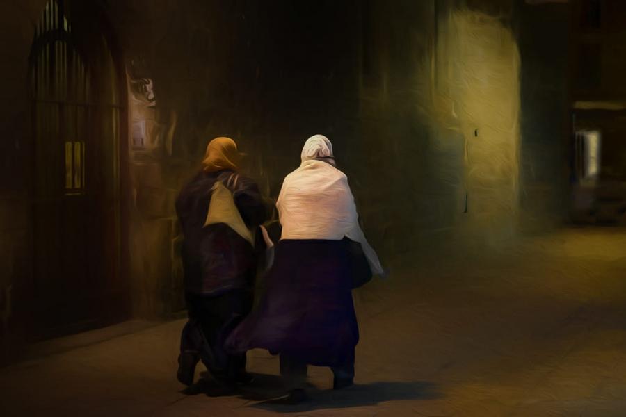 Camino a la Meca