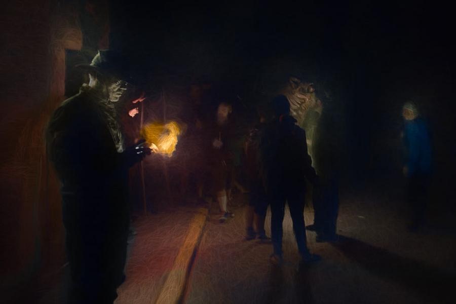 Noche de fuegos
