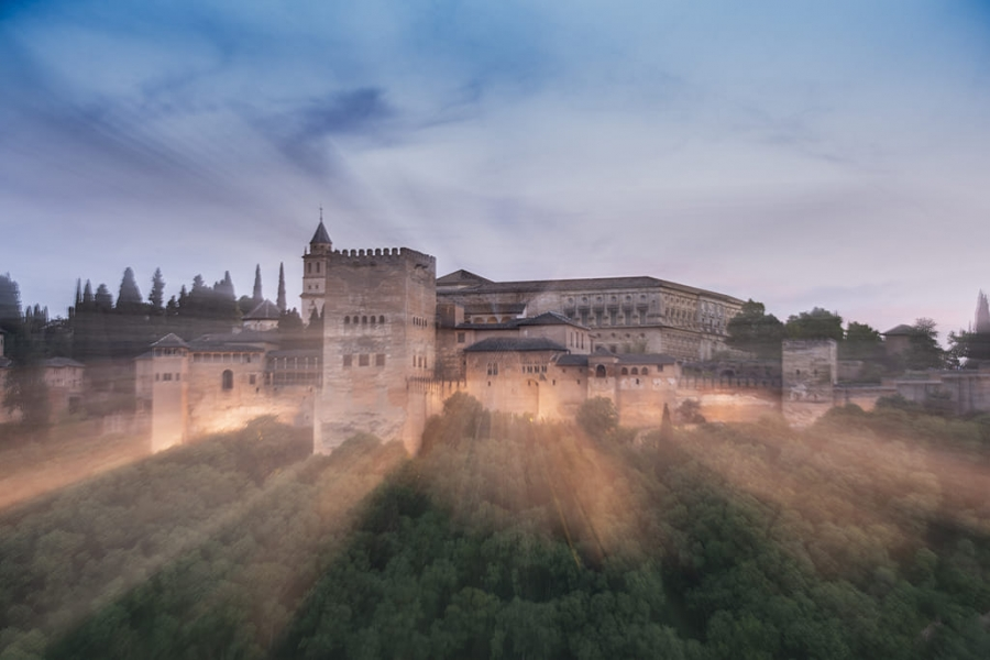 Alhambra zooming