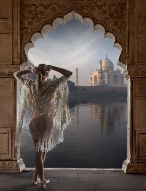 Desperar al Taj Mahal