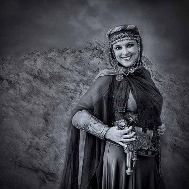 Dama del desierto