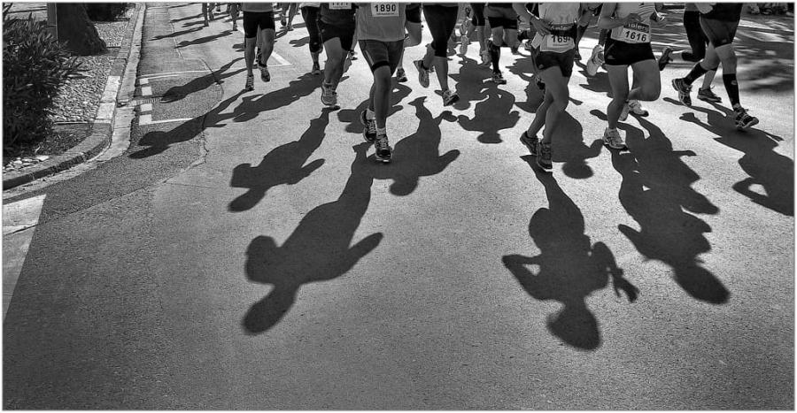 Atletas y sombras