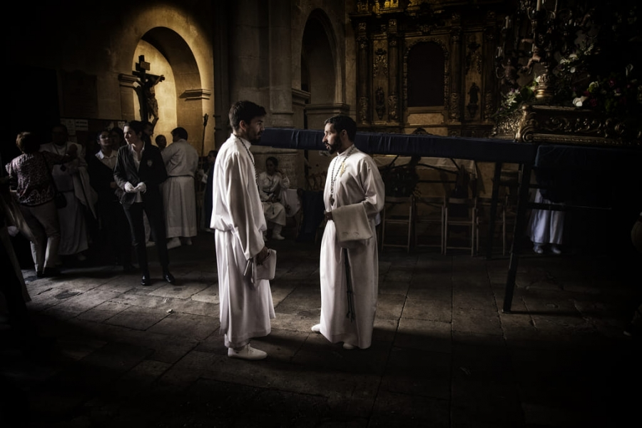 La procesión del Cristo