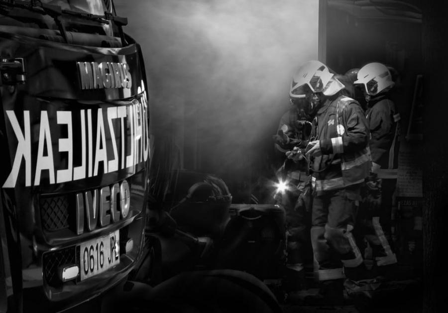 Los bomberos están siempre
