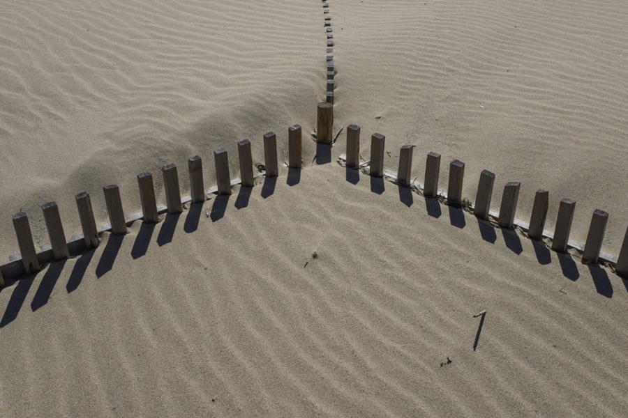 Simetría en la duna