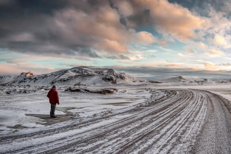 Una carretera de Islandia