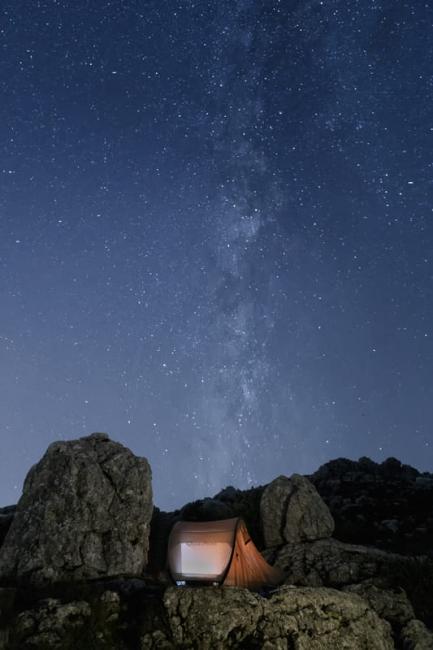 Descanso bajo las estrellas
