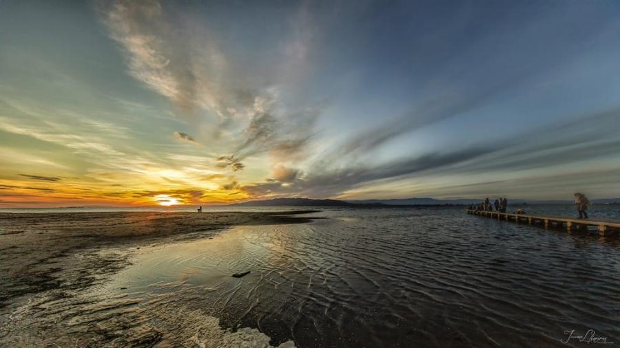 Sunset en el Delta del Ebro