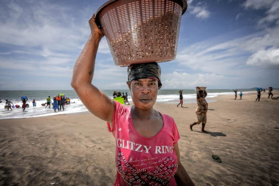 Pescadoras de concha