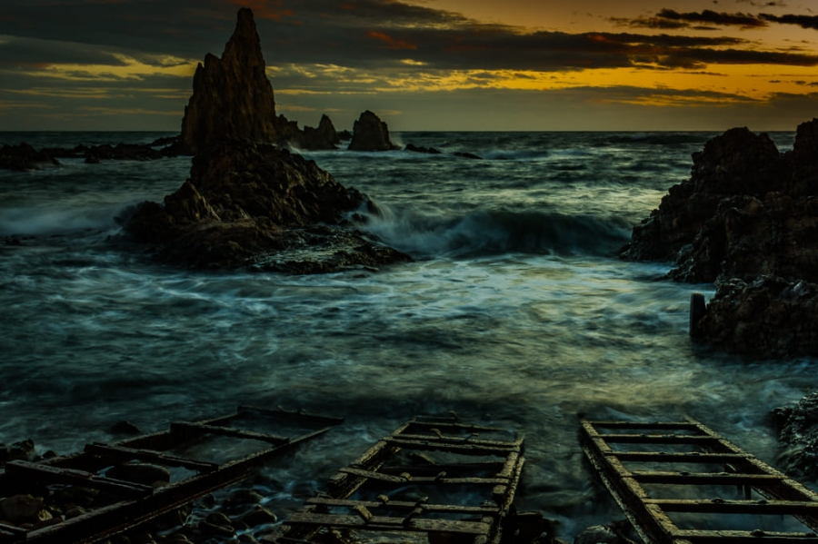 Atardecer en el Cabo de Gata