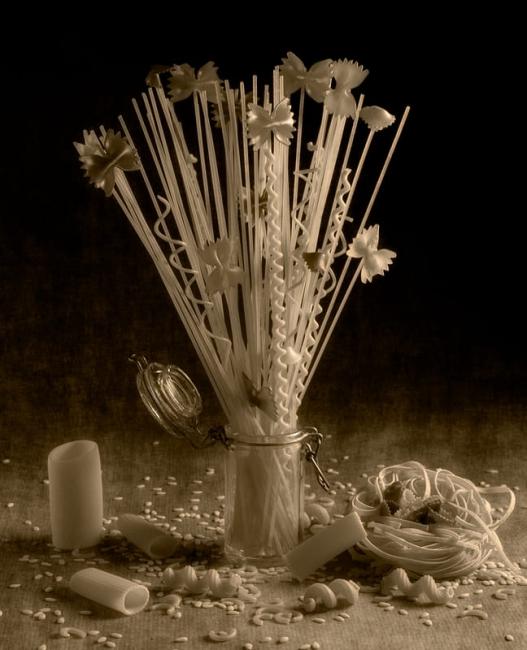 pasta en flor