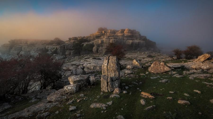 Niebla en el Torcal