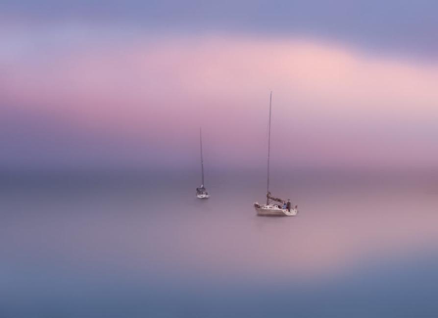 amanecer en calma