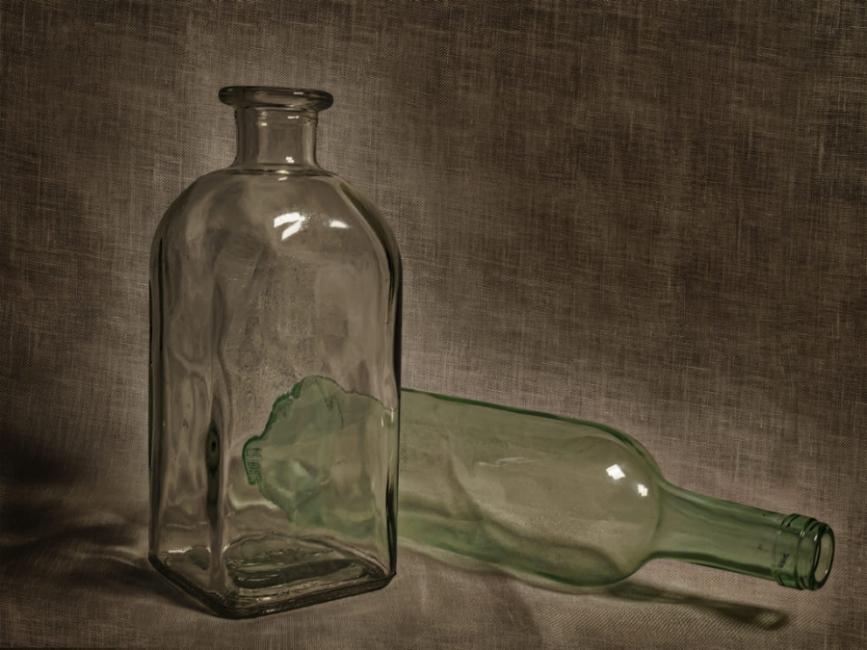 Botelles de cristal
