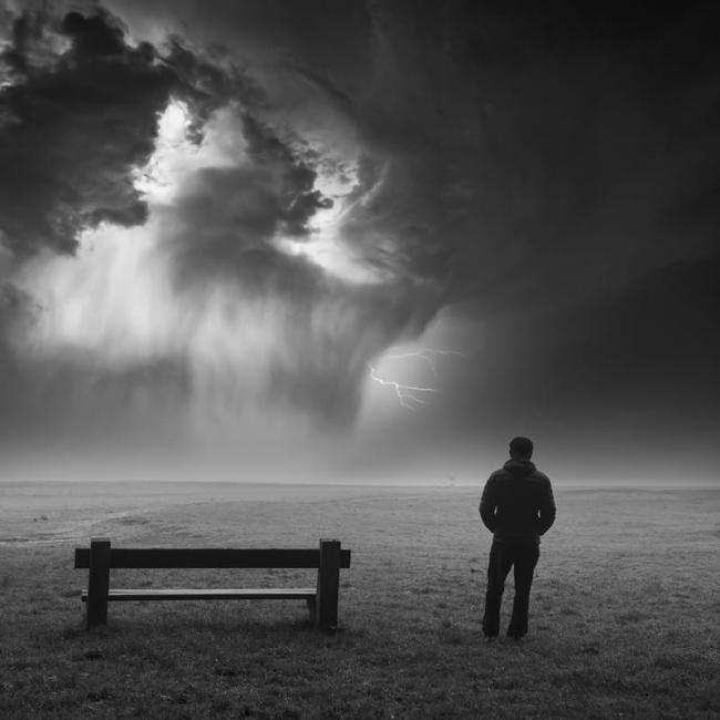 tormenta cercana