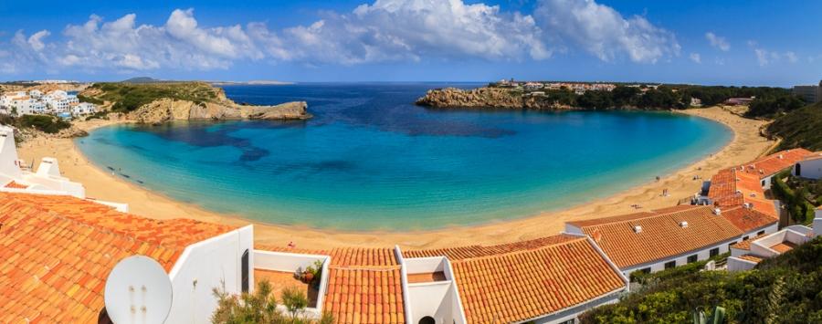 Playa menorquina