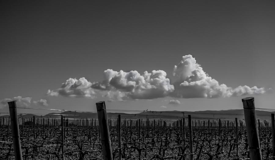 Nubes sobre El Penedès