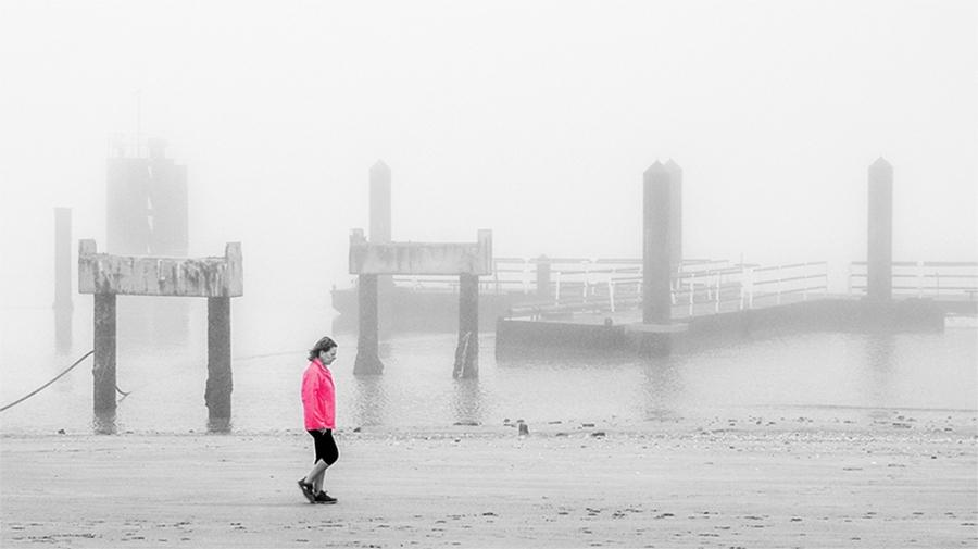 Paseo en la niebla