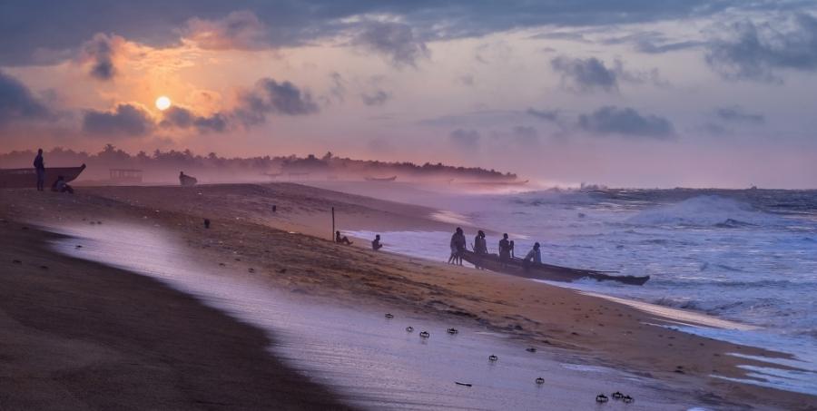 pescadores de Benin