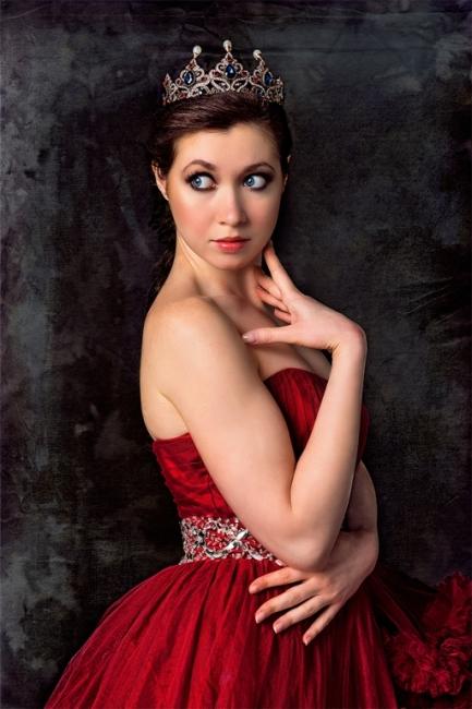 Olga in Red 2