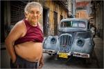Retrato en La Habana Vieja