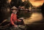 La pescadera  de Halong