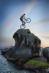 Bailando con la bicicleta