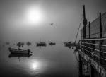 Amaneciendo en el Puerto