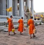 monjos tailandesos
