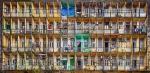 Balcones en Rangún