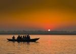 Amanecer en Ganges