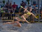 Baile sobre arena