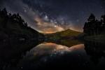 Milky Way sobre Arbón, Asturias